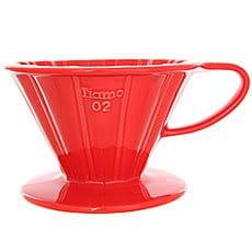 Воронка Tiamo Hg5536r Керамическая С Фильтрами Красная