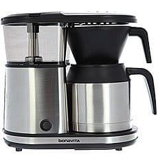 Фильтр-кофемашина Bonavita C Металлическим Термосом На 5 Чашек Металлический/Черный
