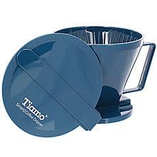 Воронка Tiamo HG5569В пластиковая Клевер синяя