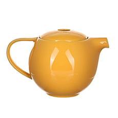 Чайник  Loveramics (Лаврамикс) с ситечком 400ml желтый