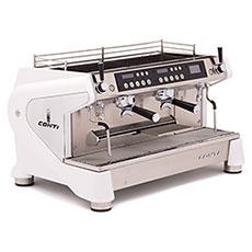 Кофемашина Conti Monte Carlo Nera 2 группы белый
