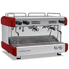 Кофемашина CONTI CC100 Стандарт 2 группы красная