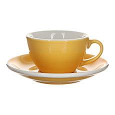 Кофейная пара Loveramics (Лаврамикс) Egg 200ml Желтая
