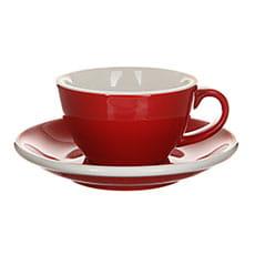Кофейная пара Loveramics (Лаврамикс) Egg 200ml Красная